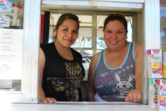 San Juan Taqueria: Joanna and Vicky, who never lets down on quality and flavor.