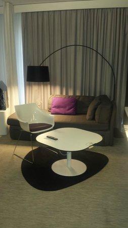 Novotel Suites Malaga Centro : Sitting area