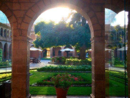 Belmond Hotel Monasterio: The gardens in one of the courtyards