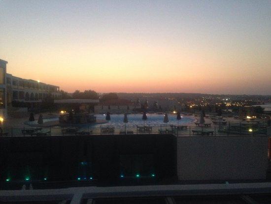 The Kresten Royal Villas & Spa : View from terrace bar