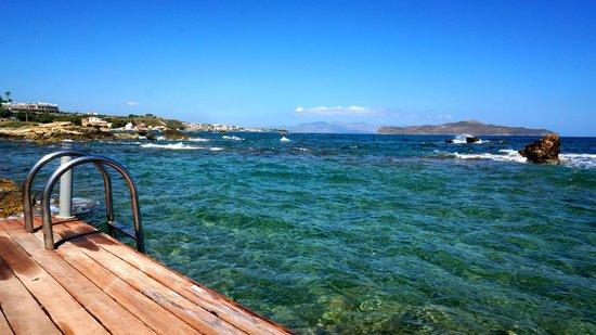 Corinna Mare Suites & Studios: Море