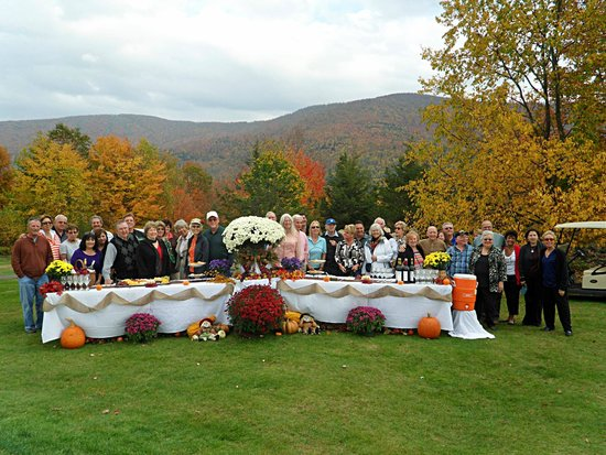 Christman's Windham House: Reception Wine and cheese tour