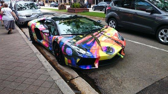 Las Olas Boulevard: one special car spotted in Las Olas Blwd