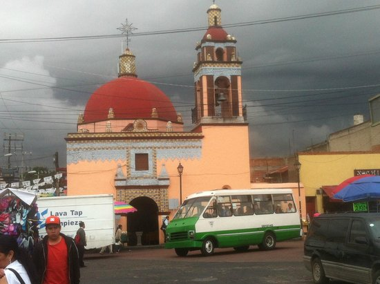 Church in Xochimilco