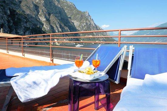 Hotel Garni Sole: Roof terrace
