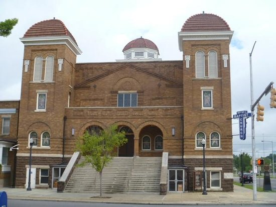 Birmingham Civil Rights Institute: 16th Street Baptist Church-Site of Bombing