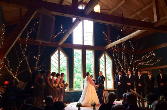 Stone Mountain Arts Center: Our wedding ceremony