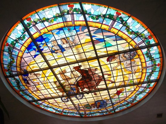 Ohtels Vil.la Romana : Vidriera hall