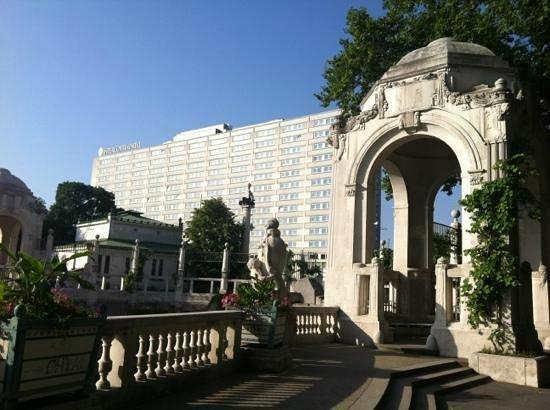 InterContinental Wien: 市立公園