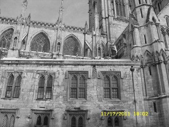 Cathédrale d'York : South Exterior view.