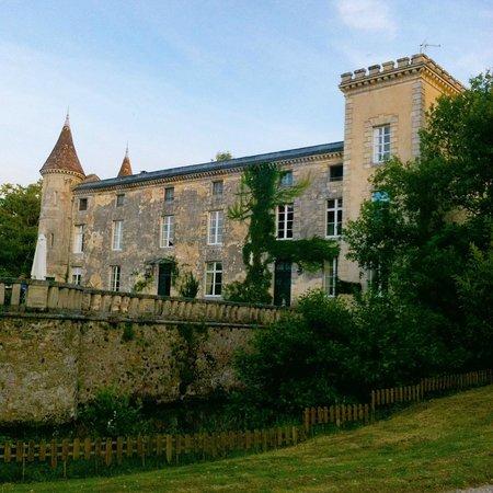 Chateau Lamothe du Prince Noir - Bordeaux : Vista da piscina