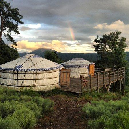 La Bergerie du Plateau : La photo est aussi jolie que le moment que j'y ai passé ...