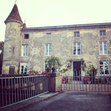 Chateau Lamothe du Prince Noir - Bordeaux: Vista estacionamento