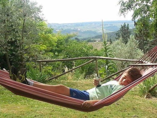 Ancora del Chianti Eco BB & Art Retreat in Tuscany : Relaxing at Ancora del Chianti