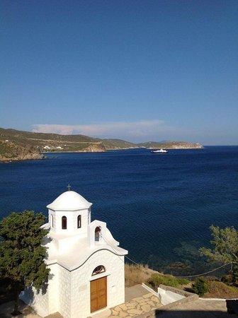 Photo credit Elaine Little Patmos Paradise hotel