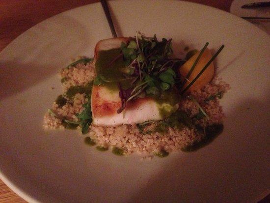 Victor's Restaurant: Halibut with Quinoa