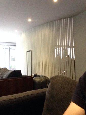 Hotel El Ejecutivo: Desde el asiento en el Lobby