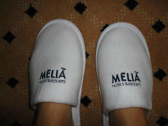 Meliá Milano: kit de quarto