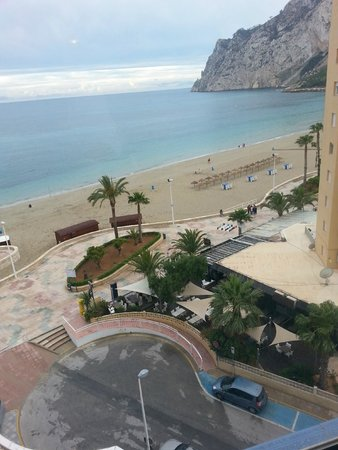Hipocampos Apartments: View from the balcony