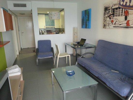 Hipocampos Apartments: Sitting room