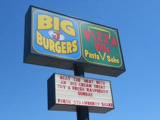 Big J's Burgers: Big J's