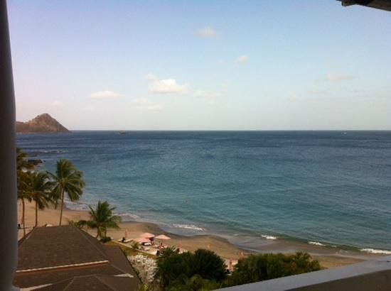 BodyHoliday Saint Lucia: view from our luxury ocean view room