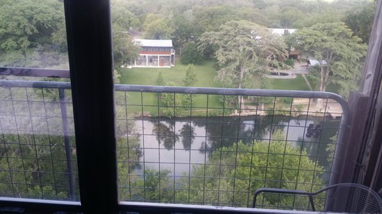 Gruene River Inn: Balcony View