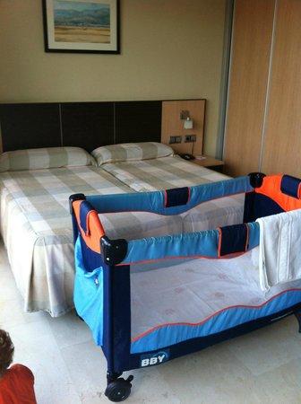 Hotel Flamingo: Chambre