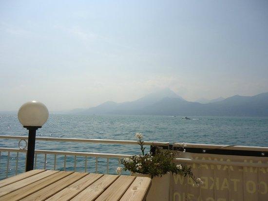 Hotel Pai: Aussicht von Seeterasse