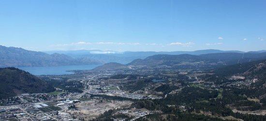 West Kelowna, Canadá: Winery tour views
