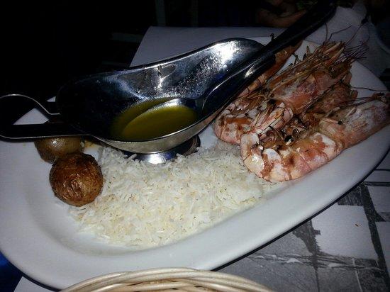Kounelas Fish Tavern: Una parte di grigliata