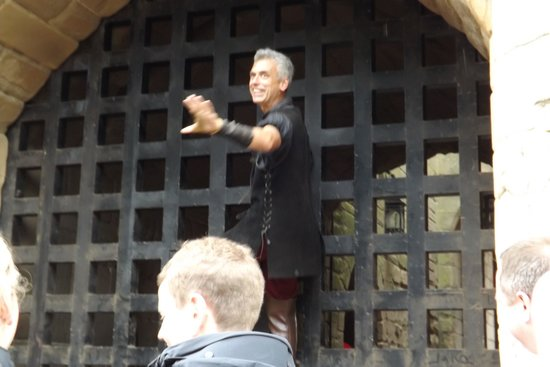 Warwick Castle: Opening the Portcullis