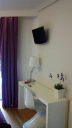 Hotel Lino: Detalle de la habitacion!
