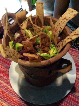 Las Cascadas Lodge: Yummy Fritos made by chef Olvin!