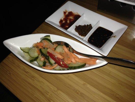 Sampurna : cucumber salad