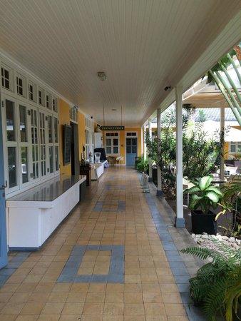 Boutique Hotel 't Klooster: binnenterrein