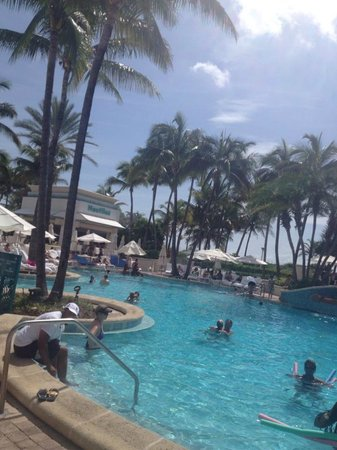 Loews Miami Beach Hotel: Piscina do Hotel