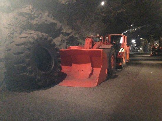 LKAB's Visitor Centre: Inside the LKAB Kiruna Mine