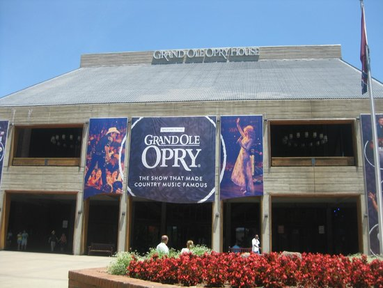 The Grand Ole Opry : Out Front and ready to go in and  enjoy!