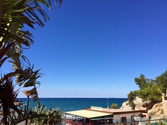 Cala Font Hotel : View out to sea