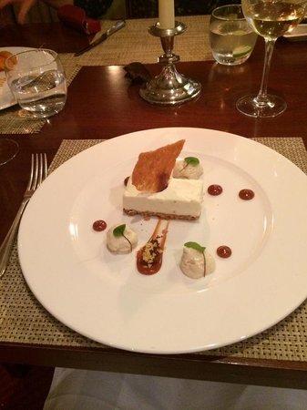 Greywalls Hotel & Chez Roux: magnificent Dessert