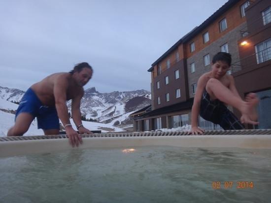 Virgo Hotel and Spa - Las Lenas: a calentarse en el jacuzi!!!