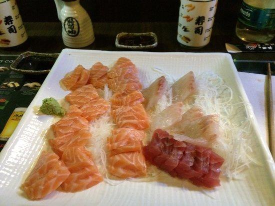 Zen No Hashi : Sashimi, porzioni varie
