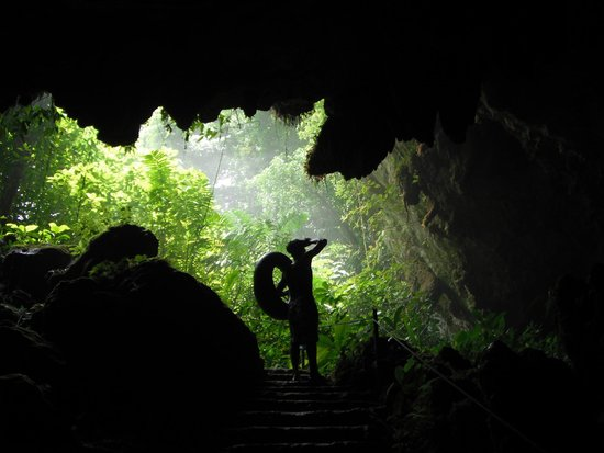 Armenia, Belize: St. Hermans Cave Entrance