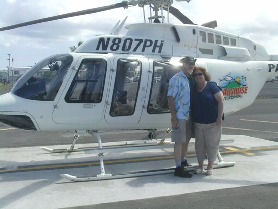 Paradise Helicopters - KONA: My Bride of 30 yrs