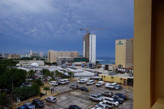 Guam Plaza Hotel: 7階の部屋から