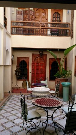 Riad Dubai: binnentuintje