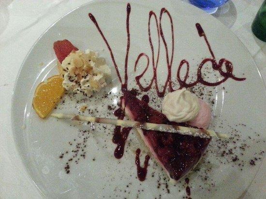 Le Velleda Hotel Restaurant : le délice du pâtissier