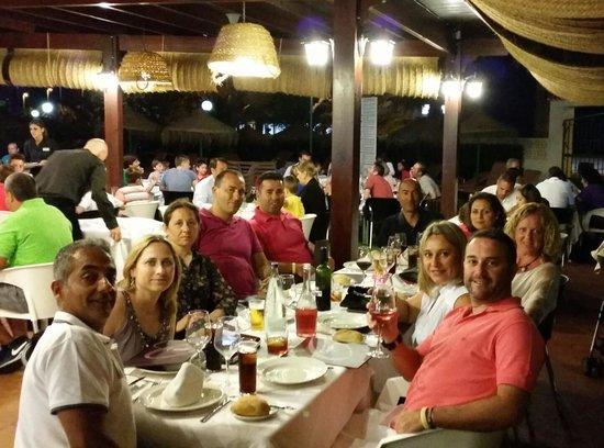Evenia Zoraida Park: Grill  El Olivo