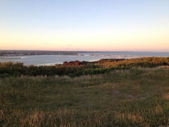 View Hengistbury Head